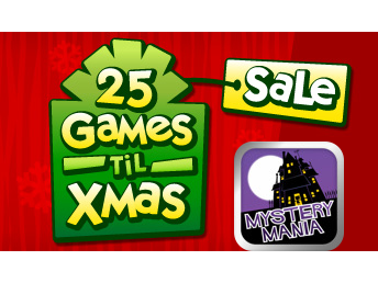 Today's EA 25 Games 'Til Xmas Sale Deal: Mystery Mania