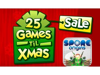 Today's EA 25 Games 'Til Xmas Sale Deal: Spore Origins