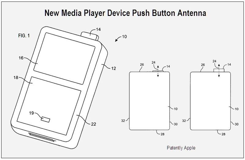 Apple Is Considering Push Button Antennas For Its iDevices