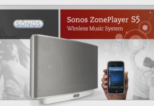 Review: Sonos ZonePlayer S5 With ZoneBridge 100 and iPhone Sonos Remote