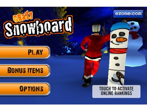 Appvent Calendar '09 Free Game #11: Crazy Snowboard