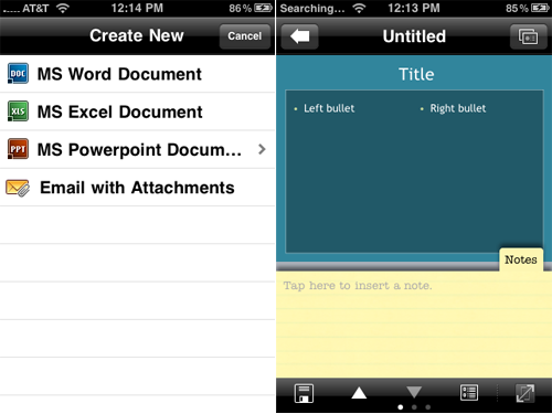 Documents To Go Receives A Name Change, Adds Gmail And PowerPoint Support