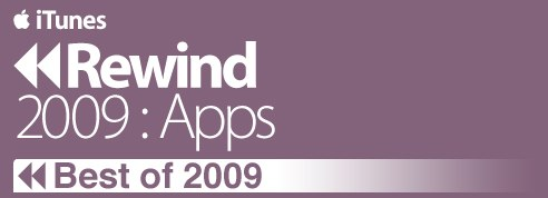iTunes Rewind Highlights The Best (Selling) Apps Of 2009