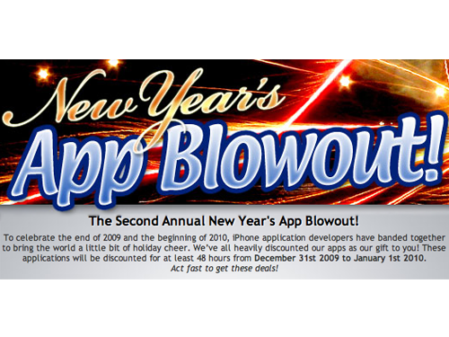 The Second Annual New Year's App Blowout Sale Is Underway
