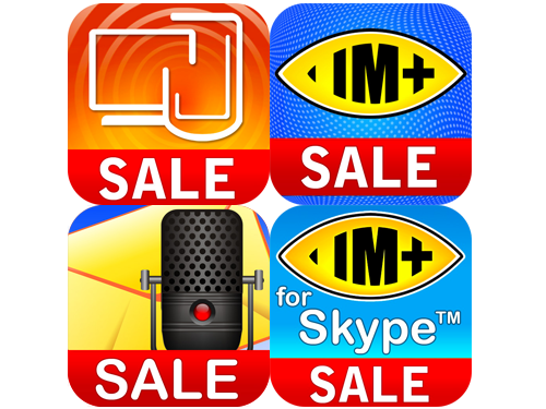 "Shape Services Is Having A ""+"" Sale: IM+, IM+ For Skype, RDM+ Remote Desktop, And VR+ Voice All Marked Down"