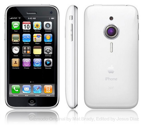 iPhone 4G To Get A LED Flash?