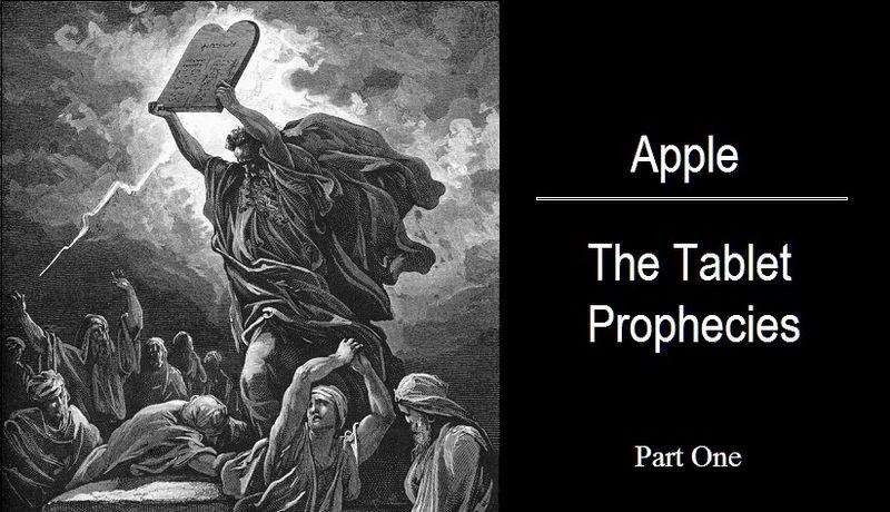Patent Watching : Apple Tablet Prophecies