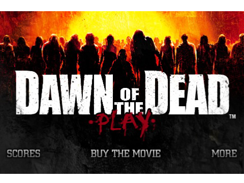 Dawn Of The Dead To Be An Official iPhone Game