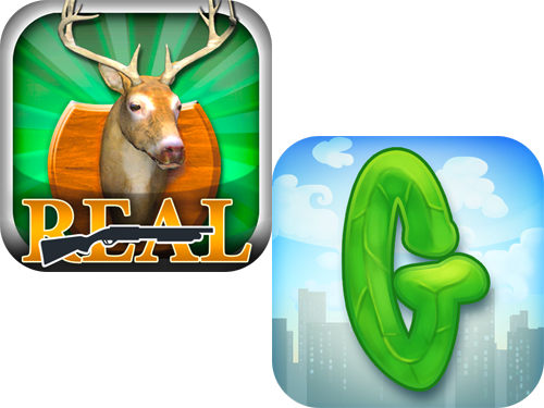 Real Deer Hunting And Green Fingers Available For Free Today Only