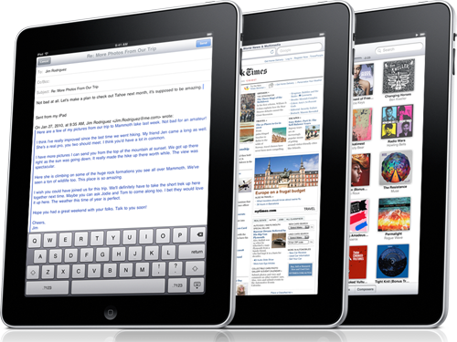 Wi-Fi iPad Models To Launch April 3rd In US, Pre-Order March 12th