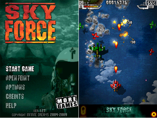 Infinite Dreams' Sky Force Available For Free Today
