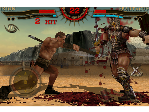 Spartacus: Blood And Sand - A TV Series-Based Fighting Game That Features A Lot Of Blood And Sand