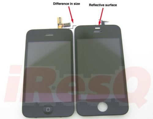 Rumor: iPhone 4G Front Pictures