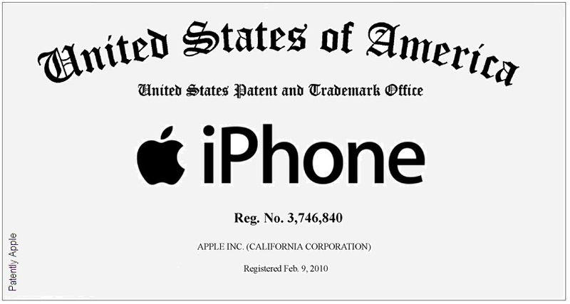The iPhone Is Now Officially A Registered Trademark Of Apple Inc