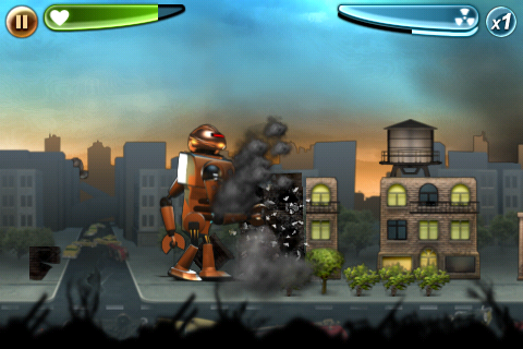 Review: Robot Rampage - Finally Rampage for the iPhone?