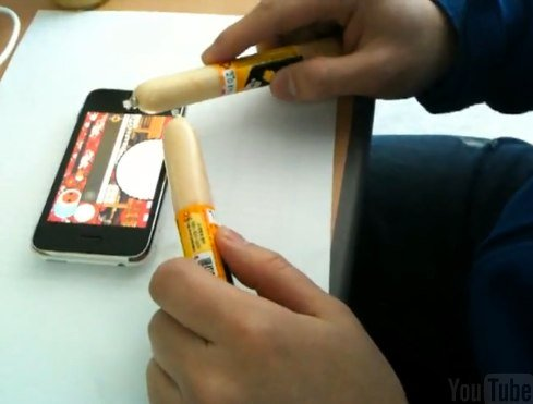 The iPhone Is Causing A Surge In Korea's Sausage Sales... They Use Them As Styluses