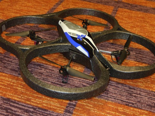 AppAdvice Takes The AR.Drone Wi-Fi Quadricopter For A Test Flight