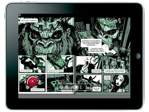 ComiXology's Comics Concept Video Shows Us What Comic Books Will Look Like On The iPad