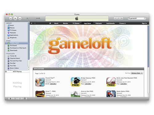Gameloft Raked In $25 Million From The App Store In '09