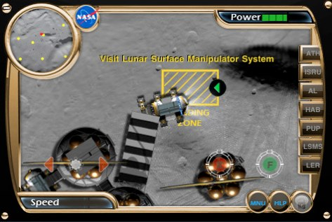Nasa Launches An iPhone Game: Takes An Astronaut To Play