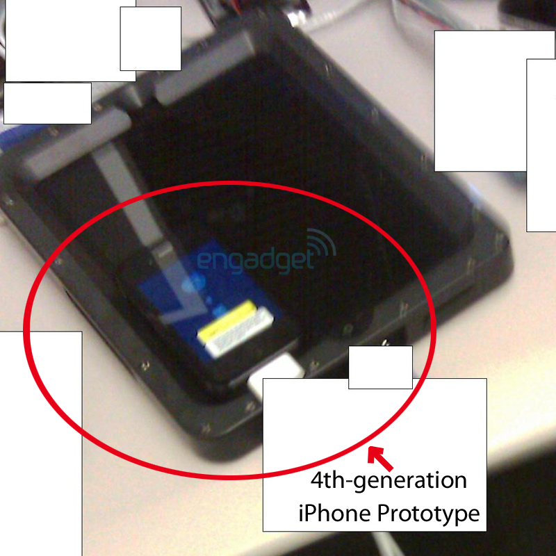 Rumor: iPhone 4G Shot Leaked & You Saw It Already