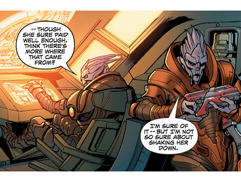 First Issue Of Mass Effect Comic Now Available, Get It For Free Today Only