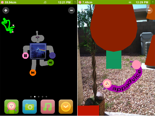 Noby Noby Boy Hits The App Store And It's... Odd