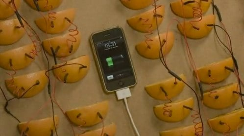 How Many Oranges Does It Take To Power An iPhone?