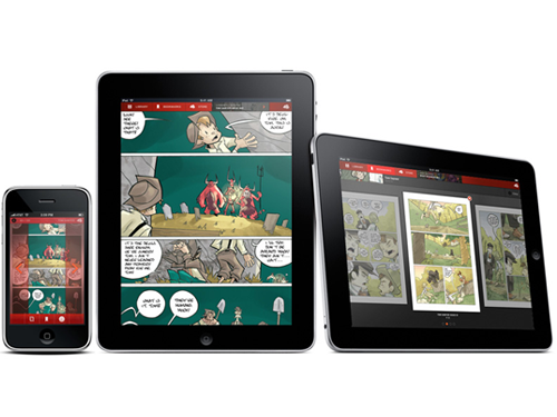 An iPad-Optimized Version Of Panelfly's Comic Book App Will Be Available At Launch