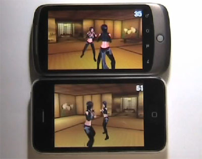 The iPhone 3GS Beats The Nexus One At Frame Rate Performance