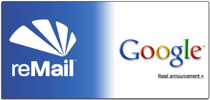 Google Buys iPhone App reMail & Pulls It