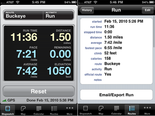 Want More Control And Data In Your Exercise App? Check Out Runmeter