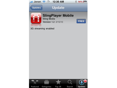 SlingPlayer Mobile Finally Gets Its 3G