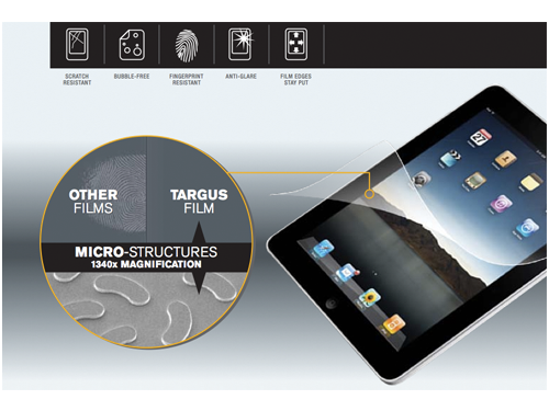 Targus To Release iPad Screen Protector With Clear View Technology In April