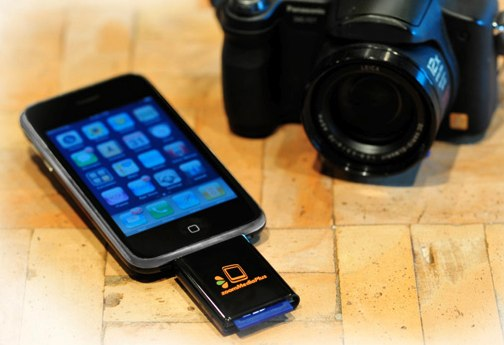 The iPhone Gets An SD Card Reader