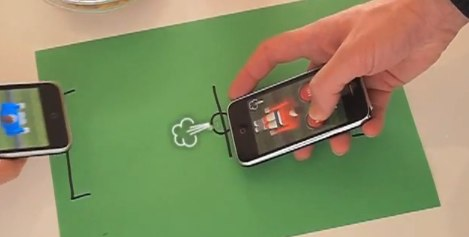 Qneo Invents iPhone Blow Soccer