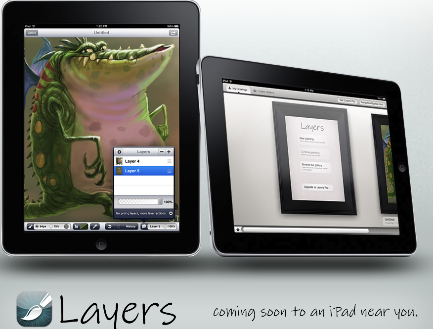 iPad Preview: Your Digital Canvas With Layers For iPad