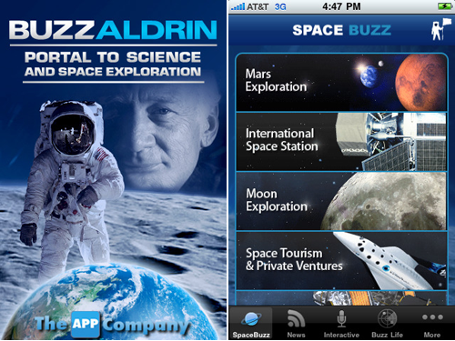 Buzz Aldrin's New iPhone App Gives You A Portal To Science And Space Exploration