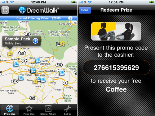 DreamWalk Takes iPhone Users On GPS-Based Treasure Hunts For Real Products