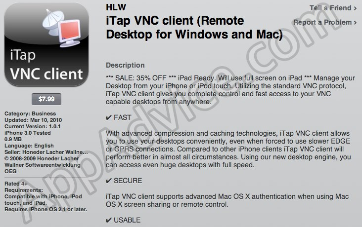 iPad Exclusive: The First VNC/RDP iPad Apps Hit The iPad App Store