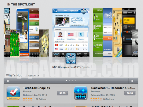 iPad App Store Unveiled, Our Exclusive Walkthrough