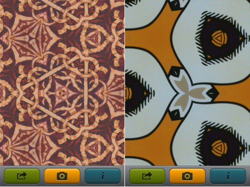 Create And Share Kaleidoscopic Images With App Cubby's KaleidoVid