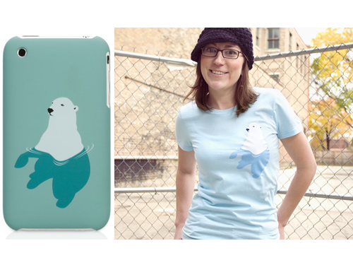 More Threadless T-Shirt Designs Become iPhone Cases