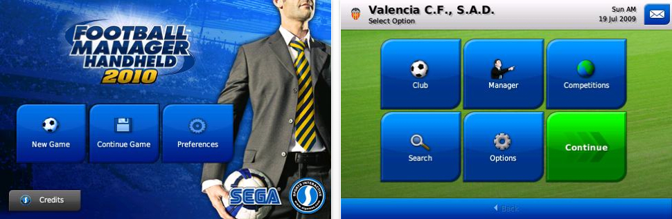 Football Manager Handheld 2010 Hits iPhone