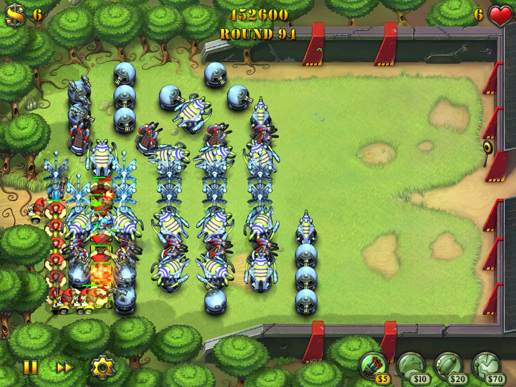 Review: Fieldrunners for iPad