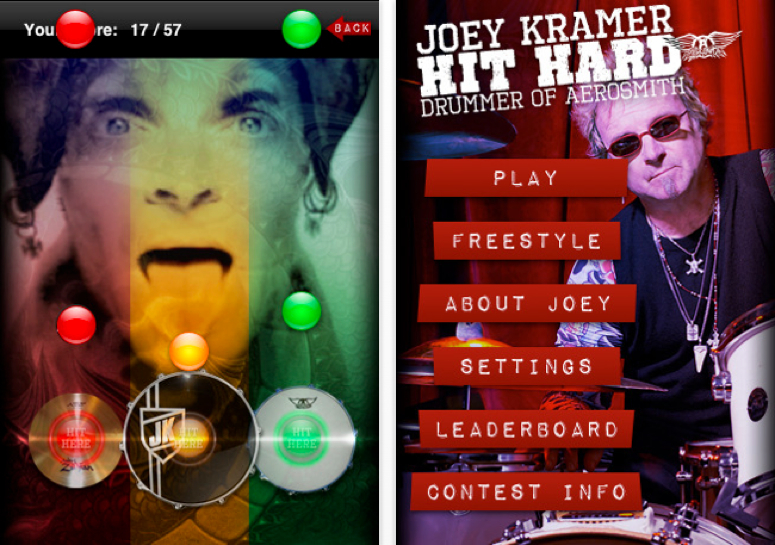 Aerosmith's Joey Kramer Comes To iPhone