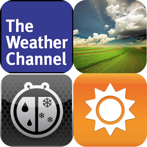 iPad Weather App Showdown