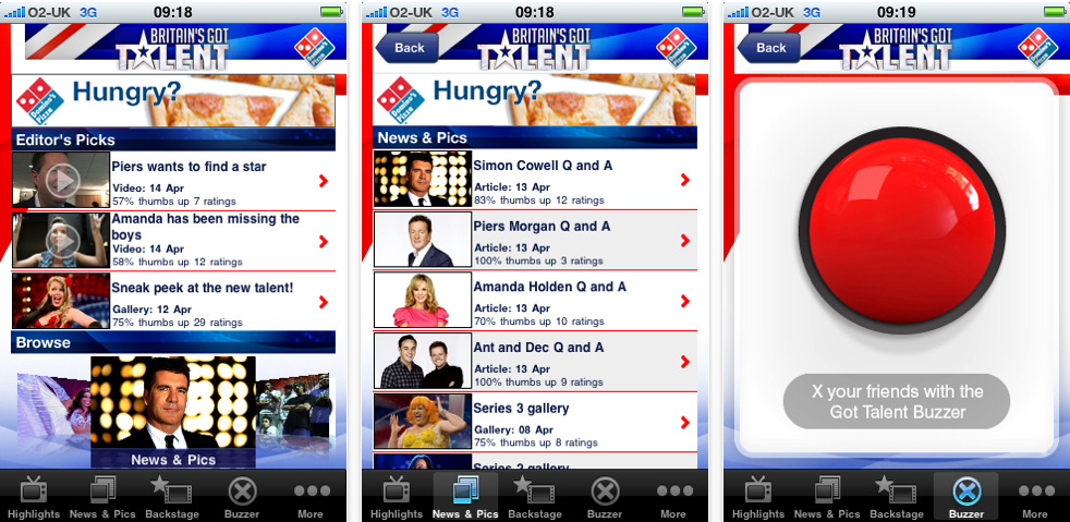 UK Only - Britains Got Talent Releases Official App