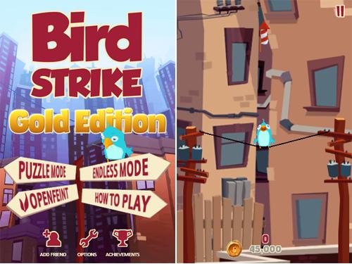 Bird Strike Gets The OpenFeint Gold Treatment