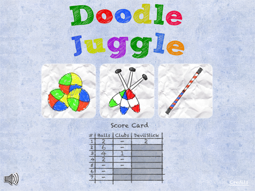QuickAdvice: Doodle Juggle For iPad